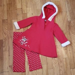 Disney baby 'Minnie Mouse' holiday set